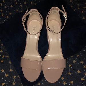 Nine West Chunky Heels